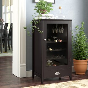 Darby Home Co Bangor 20 Bottle Floor Wine Cabinet
