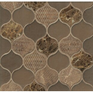 DuJour Glass and Stone Mosaic Tile