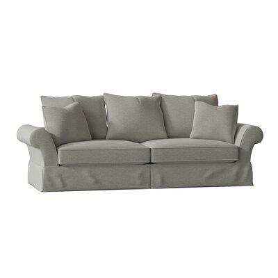 "Bleckley 98"""" Rolled Arm Sofa Bed Body Fabric: Vault Spa -  BirchLane, 07D407F1CA854AEB9D10E83B5230AB77"