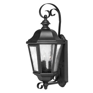 Affordable Edgewater 3-Light Outdoor Wall Lantern By Hinkley Lighting