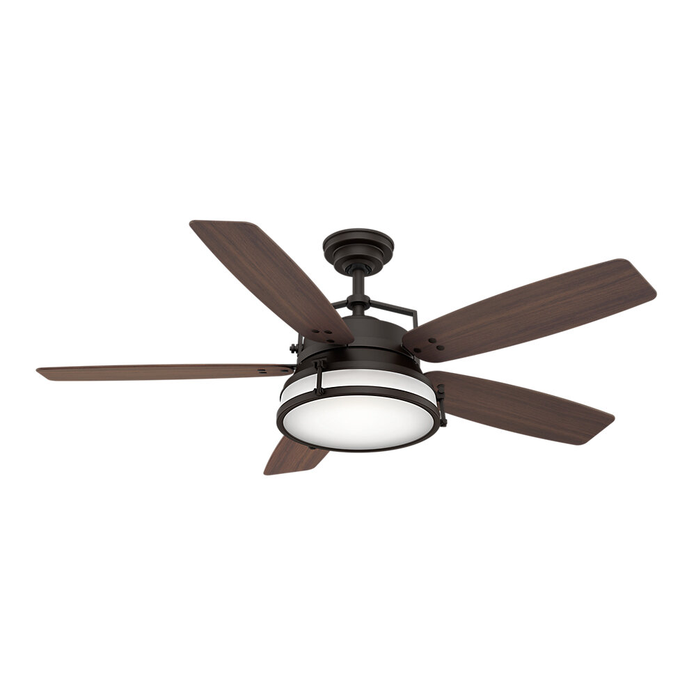 Casablanca Fan 56 Caneel Bay 5 Blade Outdoor Ceiling Reviews Wayfair