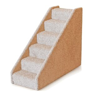 Small Solid Side 6 Step Pet Stair