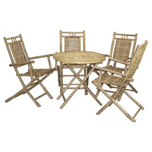 5 Piece Dining Set by Bamboo54