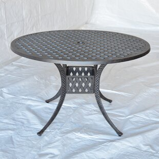 Nola Metal Dining Table by..
