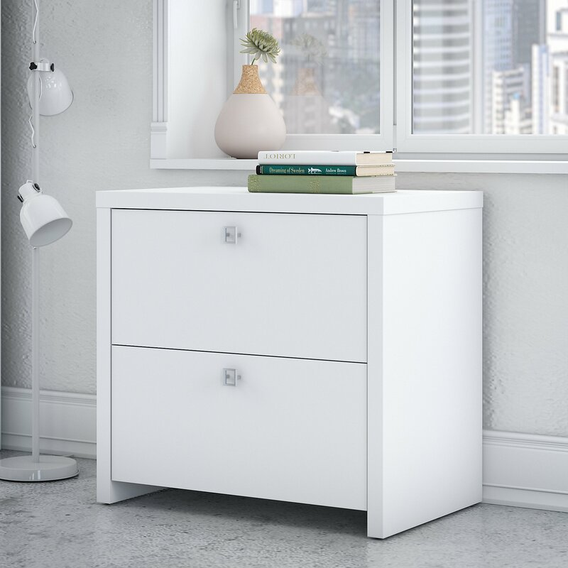 Kathy Ireland Office by Bush Echo 2-Drawer Lateral Filing Cabinet ...
