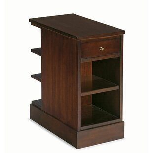 Park West End Table with Storage by Bernhardt