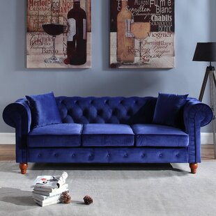 Sanders Chesterfield Sofa by Mercer41 Fresh