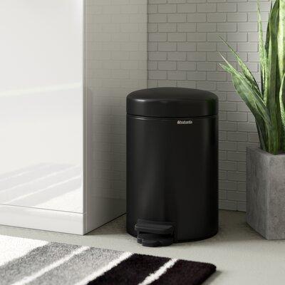 3 L Mülleimer New Icon mit Fußpedal aus Edelstahl | Küche und Esszimmer > Küchen-Zubehör > Mülleimer | Brabantia
