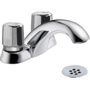 Delta Metering Centerset Bathroom Faucet