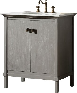 "30 Bathroom Vanity Set By Legion Furniture legion furniture 30"" single bathroom vanity set & reviews 