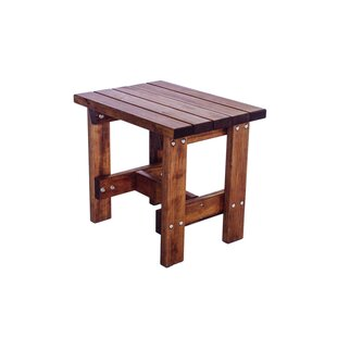 Poyner Patio End Table by Loon Peak