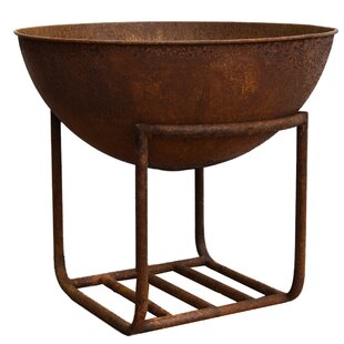 Elsmere Cast Iron Wood Burning Fire Pit By Sol 72 Outdoor