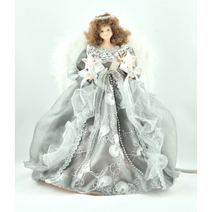 Silver/Gray Angel Tree Topper