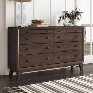 Zichichi 8 Drawer Double Dresser by Mercury Row Sale