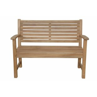 Noe 2-Seater Teak Garden Bench