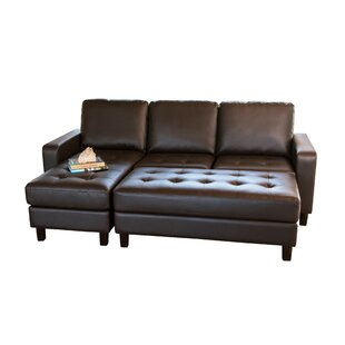 Leitner Modular Sectional with Ottoman
