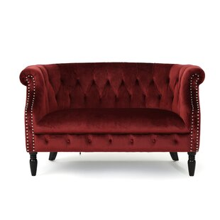 Gentil Red Velvet Loveseats Youu0027ll Love | Wayfair