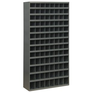 64.5 H x 33.75 W x 12 D Opening Parts Tall Bin Cabinet by Durham Manufacturing