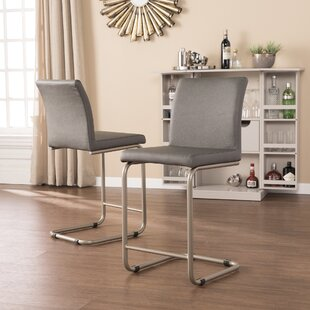 Best Reviews Hagan Bar Stool (Set of 2) by Orren Ellis Reviews (2019) & Buyer's Guide