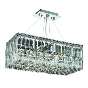 House of Hampton Langer 4-Light Crystal Chandelier