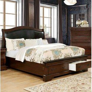 Astoria Grand Glasco Upholstered Sleigh Bed