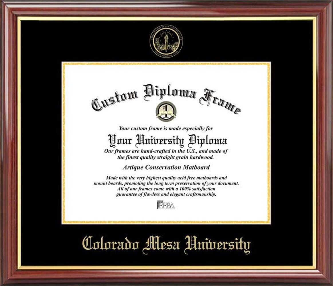 Diploma Frame Deals Colorado Mesa University Petite Picture Frame Wayfair