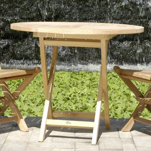 Quinlan Folding Solid Wood Dining Table b..