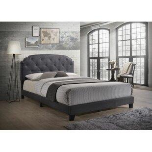 House of Hampton Janke Queen Upholstered Panel Bed