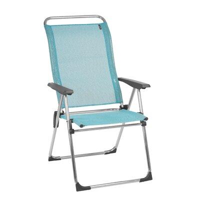 Lafuma Chamelips Reclining Beach Chair Fabric Color Emeraude
