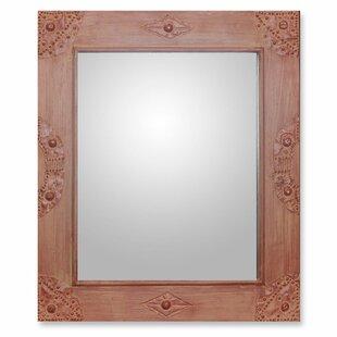 Novica I'm Perfect in Cinnamon Accent Mirror