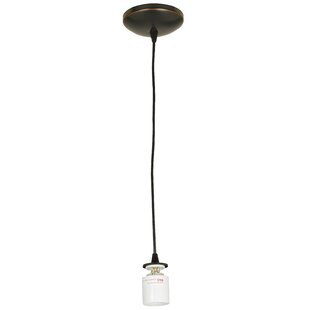 Ferragamo 1-Light Bulb Pendant by Ebern Designs