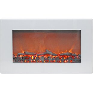 Bevers Wall Mounted Electric Fireplace by Ebern Designs