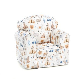 Fetterman Animal Camp Children's Club Chair By Zoomie Kids