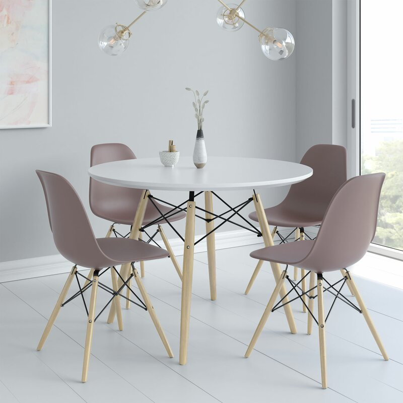 ad6a077b8bc8 George Oliver Kling 5 Piece Dining Set & Reviews | Wayfair