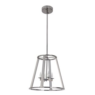 Brayden Studio Bertsch 4-Light LED Cone P..