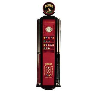 Billiards Gas Pump Cue Holder