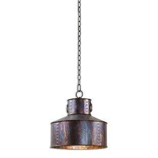 Diann 1-Light Jar Pendant by Williston Forge