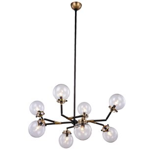 Corrigan Studio Roman 8-Light Sputnik Chandelier