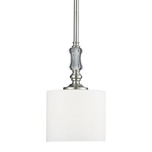Charlton Home Dupuis 1-Light Drum Pendant