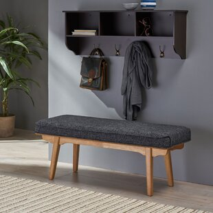 Vanetten Upholstered Bench by Union Rustic