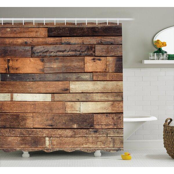 Wood Look Shower Curtain Wayfair