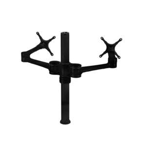 Dual Display Articulating/Extending Arm Desktop Mount 20