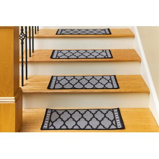 Non Slip Backing Stair Tread Rugs You Ll Love Wayfair