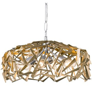 Brayden Studio Bob 6-Light Drum Chandelier