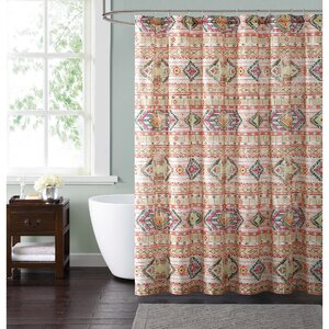 teal and brown shower curtain. McGorry Shower Curtain Brown Curtains  Joss Main