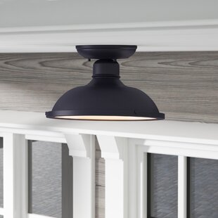 Barnfield Outdoor Semi Flush Mount