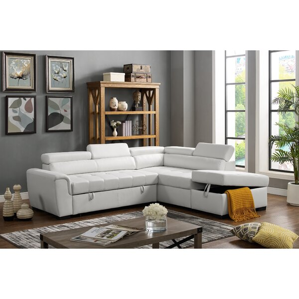 Excellent Sleeper Sectional With Ottoman Wayfair Ca Andrewgaddart Wooden Chair Designs For Living Room Andrewgaddartcom