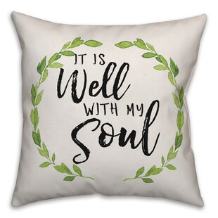 Stalker It Is Well with My Soul Throw Pillow