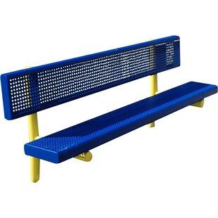 Kidstuff Playsystems, Inc. Steel Park Bench