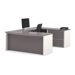 Aurea Reversible U-Shape Executive Desk by Orren Ellis Best Choices